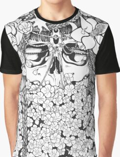 Flower Bed Graphic T-Shirt