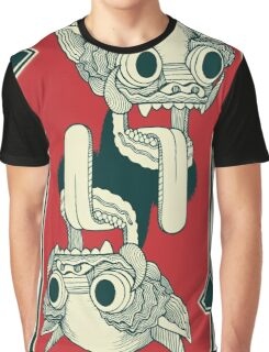 Headgame red Graphic T-Shirt
