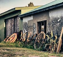 Spare wheels for Africa by Brian Edworthy