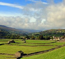 Gunnerside, as fine as the Dales gets! by Knut P.  Boyum