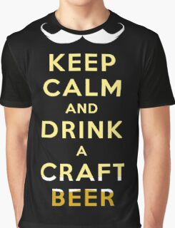 KEEP CALM - CRAFT BEER Graphic T-Shirt
