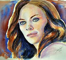 Tess Mercer (Cassidy Freeman), featured in The Group by FDugourdCaput