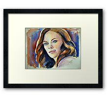 Tess Mercer (Cassidy Freeman), featured in The Group Framed Print