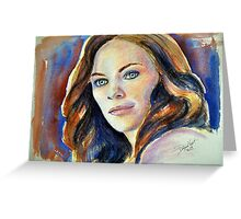 Tess Mercer (Cassidy Freeman), featured in The Group Greeting Card