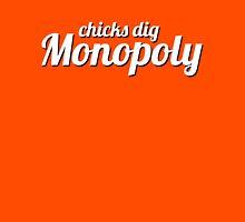 chicks dig monopoly Unisex T-Shirt