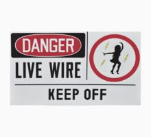 Danger Live Wire One Piece - Short Sleeve