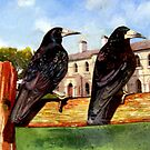 A Pair of Rooks by doodledesign