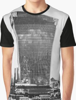 The Walkie Talkie Building, London Graphic T-Shirt