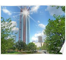 Oklahoma City Highrise Poster