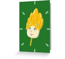 Super Saiyasicle Lemon Flavor Greeting Card