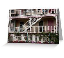 Decks, Railings And Stairs Greeting Card