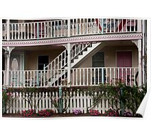 Decks, Railings And Stairs Poster
