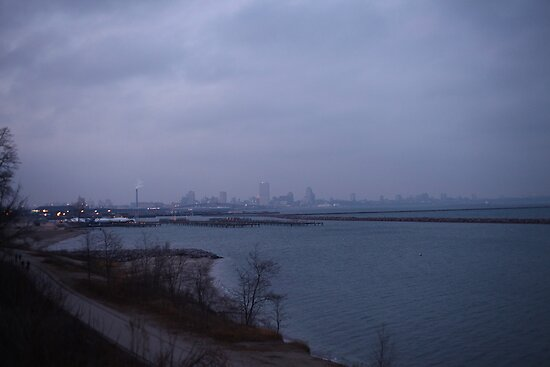 Milwaukee Skyline  by Thomas Murphy
