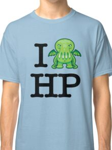 I Love HP Lovecraft - Cthulhu Classic T-Shirt
