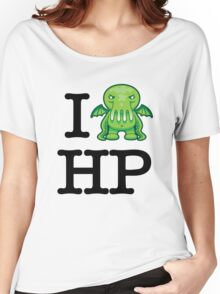 I Love HP Lovecraft - Cthulhu Women's Relaxed Fit T-Shirt