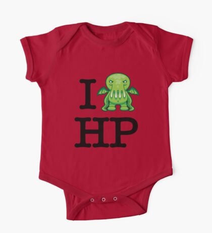I Love HP Lovecraft - Cthulhu One Piece - Short Sleeve