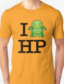I Love HP Lovecraft - Cthulhu T-Shirt