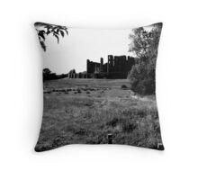Kenilworth Castle #2 Throw Pillow