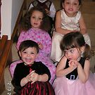 Group photo of cousins on the stairs. by EJ27