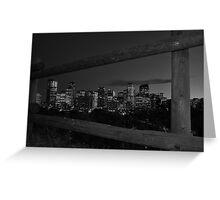 night cityview Greeting Card