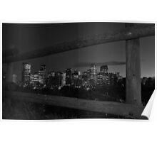 night cityview Poster