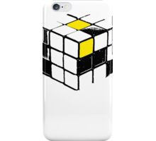 Rubik Cube Yellow iPhone Case/Skin