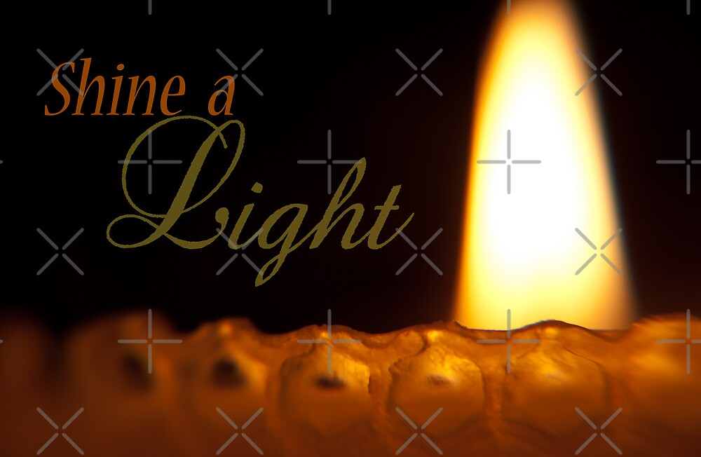 Shine a Light (Greeting Card) by Denise Abé