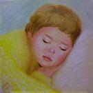 Baby George Sleeping by Noel78