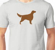 Irish Setter Silhouette(s) Unisex T-Shirt