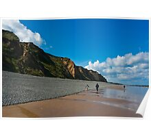Sheringham Beach, Norfolk, UK Poster