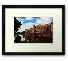 Girona Apartments Framed Print