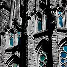Sagrada Família Windows by dozzie