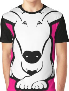 English Bull Terrier Crossed Paws  Graphic T-Shirt