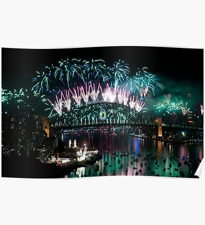 Simply The Best ! - Sydney NYE Fireworks  #3 Poster