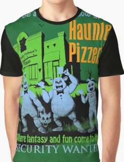 The Haunted Pizzeria Graphic T-Shirt
