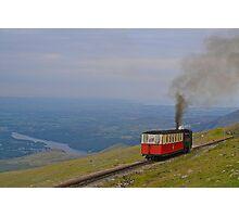 Snowdon Mountain Railway Photographic Print