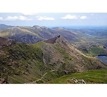 Snowdon Summit Photographic Print