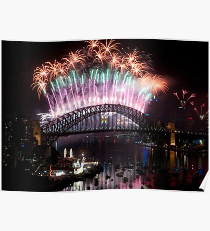 Simply The Best ! - Sydney NYE Fireworks  #2 Poster