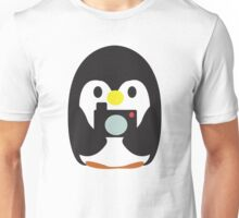 Penguin with Camera Unisex T-Shirt