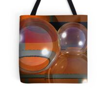 Bubbles on bricks Tote Bag