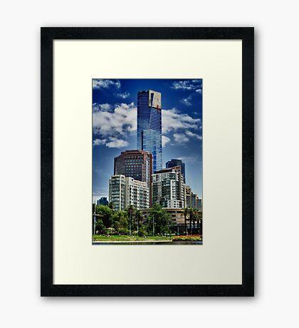 Dominating Tower Framed Print