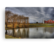 The Country Life Canvas Print