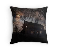 When Wolves Cry Throw Pillow