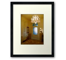 Hall of La Pedrera Framed Print