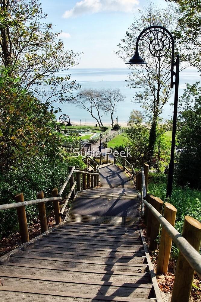 Steps Down To The Sea ~ Lyme Regis by Susie Peek