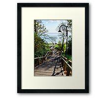 Steps Down To The Sea ~ Lyme Regis Framed Print