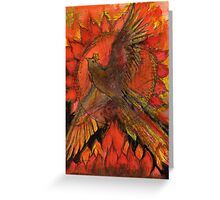 A phoenix for 2012 Greeting Card