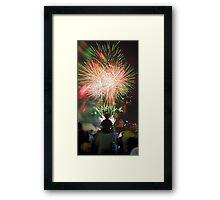 Sprayed Light Framed Print