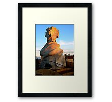 Tower of La Pedrera Framed Print