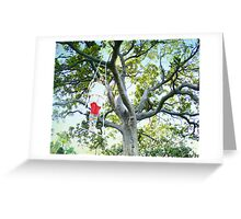 Tree trapezi Greeting Card